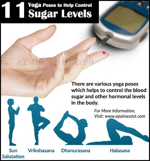 Yoga Poses to Help Control Sugar Levels