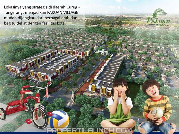 Cluster Pakuan Village Curug Tangerang. #pakuanvillage #paramountland