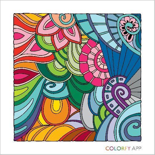Swirl coloring