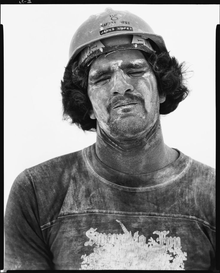 Richard Avedon, Jimmy Lopez, gypsum miner, Sweetwater, Texas, June 15, 1979Photography Richard Avedon  Art Ideas Home Nature More Pins Like This At FOSTERGINGER @ Pinterest