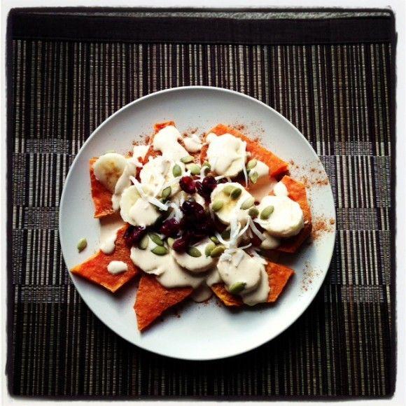 Sweet Potato Breakfast Nachos