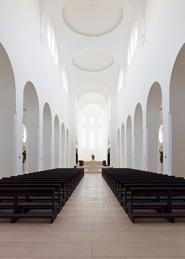 John Pawson Churches | JOHN PAWSON: A New language In Church Architecture