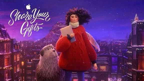 Apple S Holiday Ad Is Inspirational But Barely Includes Any Apple Products Animation Apple Shares Creative