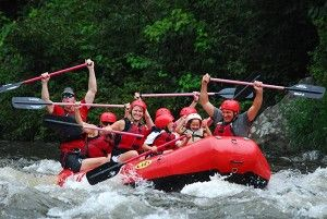 White Water Rafting for Kids of All Ages - Many families with small children wonder whether they can participate because of the rapids, but, here at Smoky Mountain Outdoors, you have no reason to wonder because we have safe options for all ages. Click picture to read more!