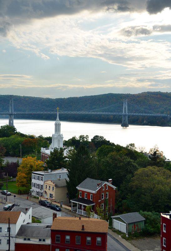 Tappenzee Bridge Across Hudson River, Poughkeepsie, New York