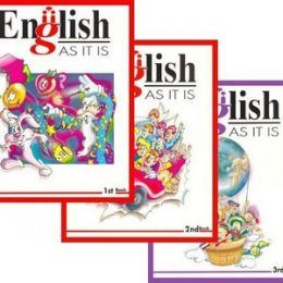 English • AS IT IS • English Course • Books 1-2-3 Individual English, Mexico 1997 | English | MP3, PDF, 446 pages | 304.32 MB This is the first/second/third of three books for learning English. The book has vocabulary, exercises, grammar, verbs, adjectives.