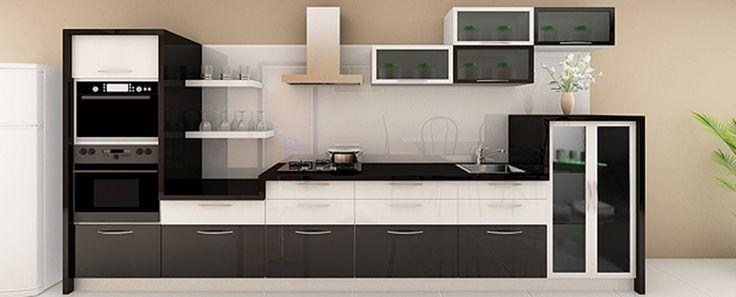 Parallel kitchen design india google search kitchen - L shaped indian modular kitchen designs ...