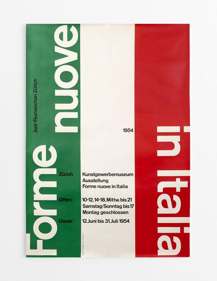 Forme nuove in Italia _ Carlo Vivarelli, 1954