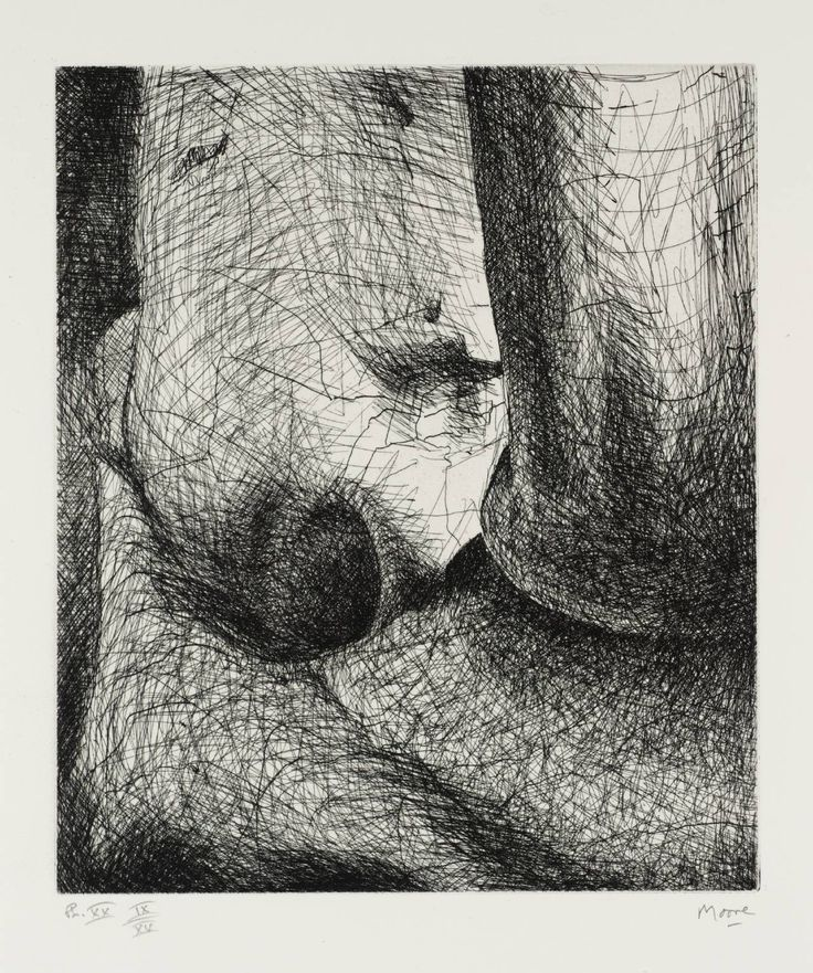 Henry Moore OM, CH 'Elephant Skull Plate XX', 1969 © The Henry Moore Foundation, All Rights Reserved, DACS 2014