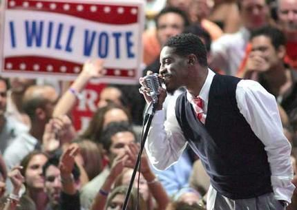Andre 3000 Rock the Vote event few years back