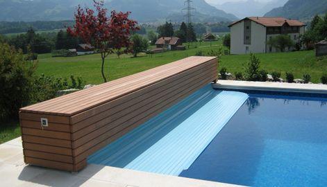 25 b sta id erna om poolabdeckung p pinterest pool spa for Gartenpool mit rutsche