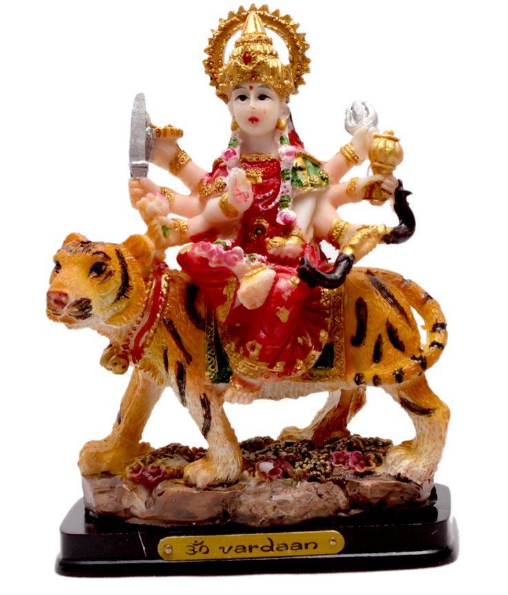 Hand Carved Hindu Goddess Durga Resin Idol Sculpture Statue 4.6 Inches #Durgastatue #Durga #Durgaidol http://www.amazon.com/Carved-Goddess-Sculpture-Statue-Inches/dp/B0136LOBUY/ref=sr_1_6?m=AS6NUW2A4I9OG&s=merchant-items&ie=UTF8&qid=1446556579&sr=1-6&keywords=STATUE