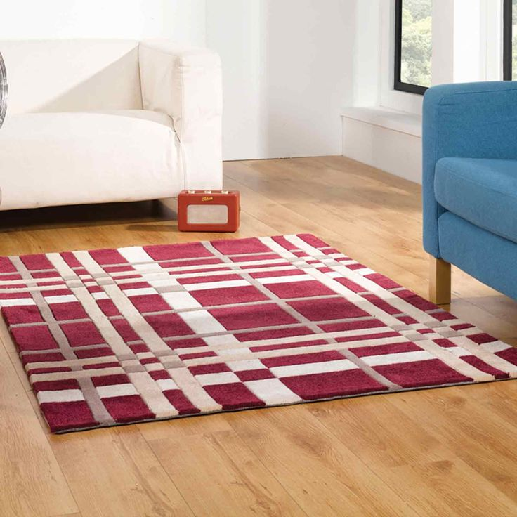 Visit The Big Red Carpet Company for the Best Supply Only Price on Flair  Rugs Hand Tufted Polyester Infinite Funky Weave Wine Cream