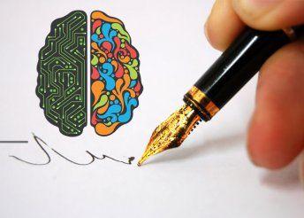 2,5 órás jobb agyféltekés írás workshop interaktív, játékos elemekkel az Astorián vagy Újbudán