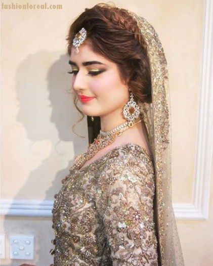 Magnificent 17 Best Ideas About Indian Wedding Hairstyles On Pinterest Hairstyle Inspiration Daily Dogsangcom