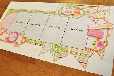 Scrapbook Generation - Baby Girl kit by Debbie Sanders