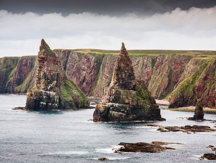 The Stacks of Duncansby, John o' Groats