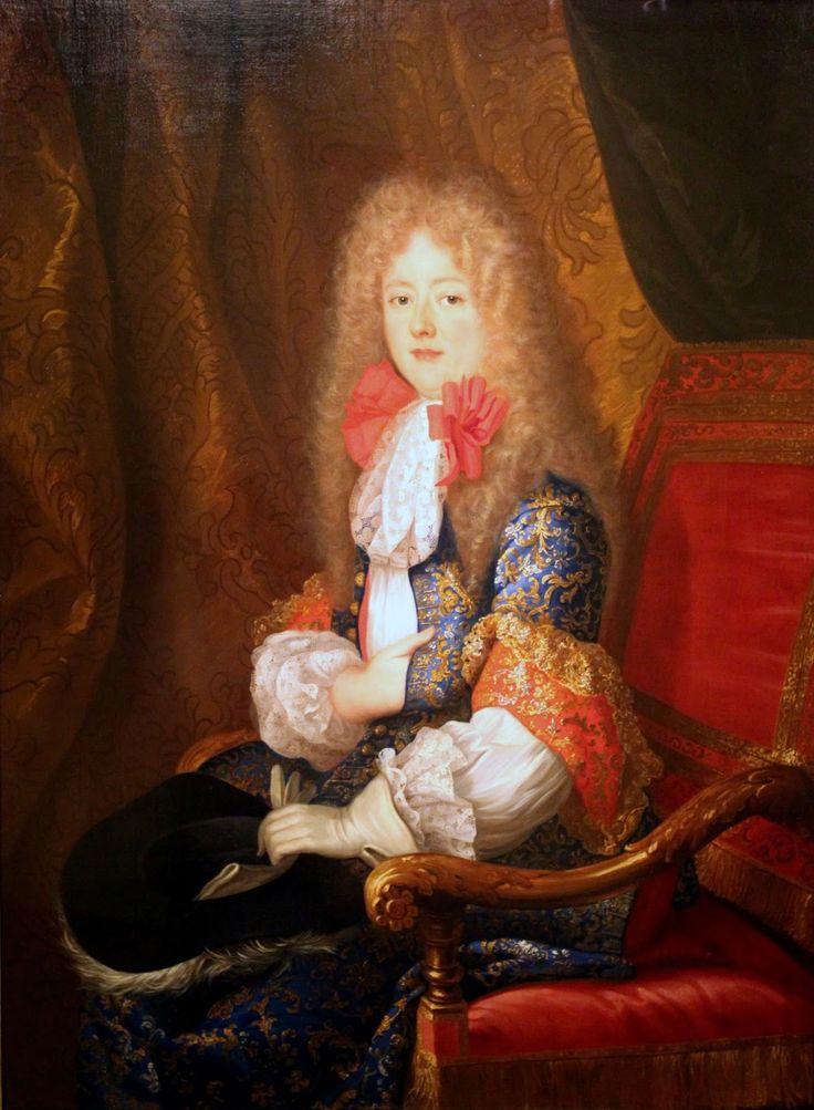 Portrait of Liselotte von der Pfalz, 1678. Louis Ferdinand Elle the Elder.