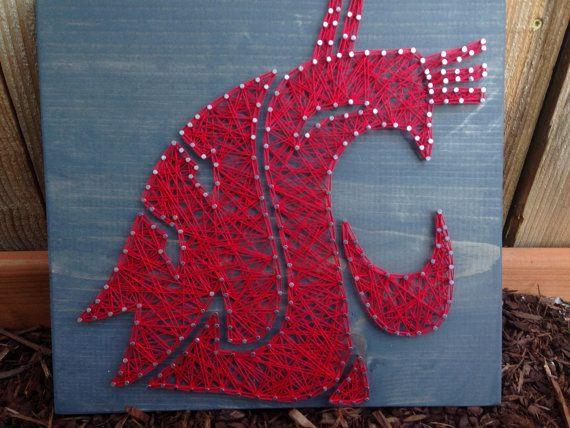 MADE TO ORDER Washington State University Logo by MadeByTheNeedle
