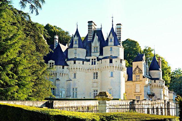 France, Loire Valley - Château d'Ussé (Sleeping Beauty Castle)