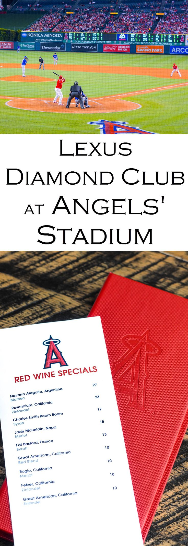 Get an inside peak at the Lexus Diamond Club at Angels' Stadium. Sit behind home plate and enjoy delicious food and wine. Whether yoing Disneyland and looking for what else to do nearby, check these photos out...
