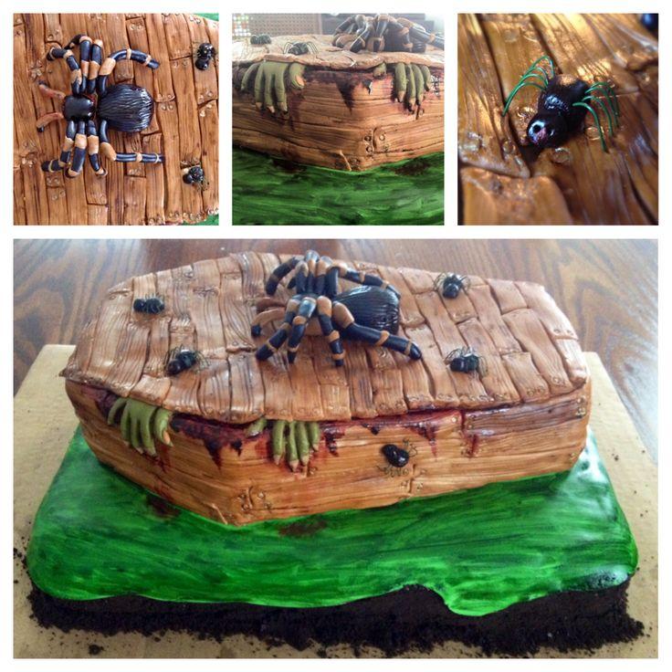 Scary birthday cake