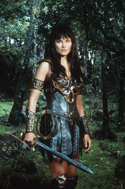 I got parked in front of the tv a lot, so this happened. Pictures & Photos of Lucy Lawless