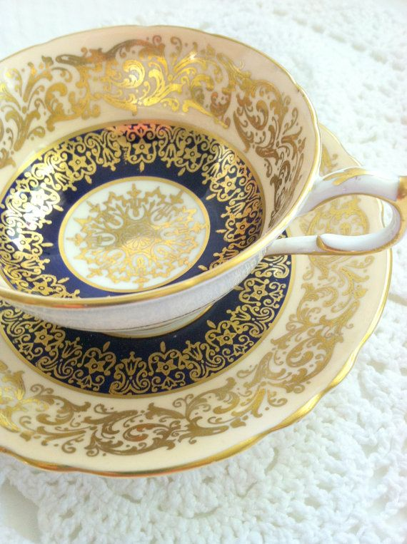 antique-paragon-downton-abbey-inspired [ TheSterlingHut.com ] #tea #personalized #sterling