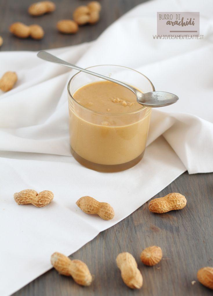 burro di arachidi - homemade peanut butter