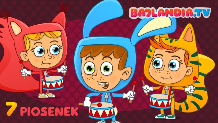 Przedszkolaczek - zestaw piosenek dla dzieci - bajlandia.tv