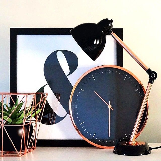 Make a statement with these black & copper pieces! via @agnus.k