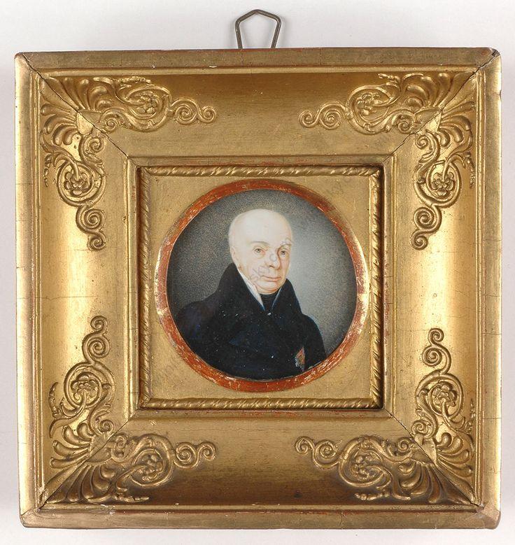 """Carl Friedrich, Grand Duke of Baden"", German miniature, 1805/10"