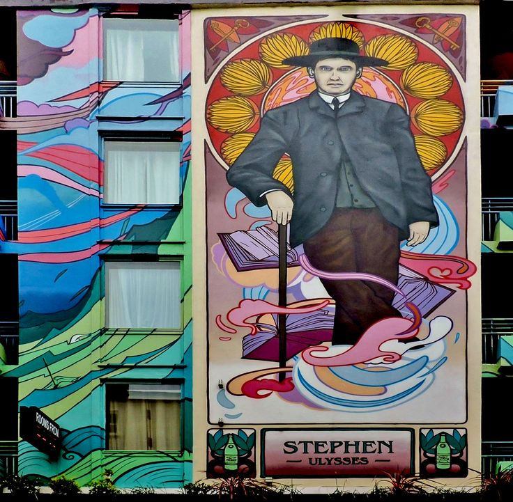 40 best images about images of grafton street dublin on for Dublin wall mural