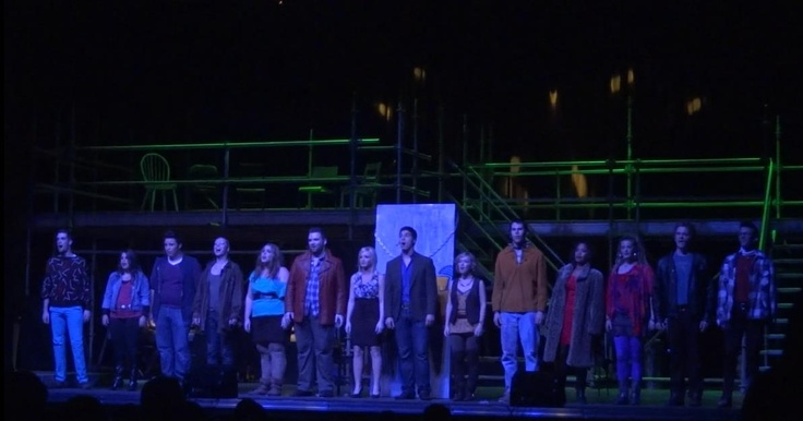 RENT, direction and set design for DGM Productions in Halifax, fall 2011