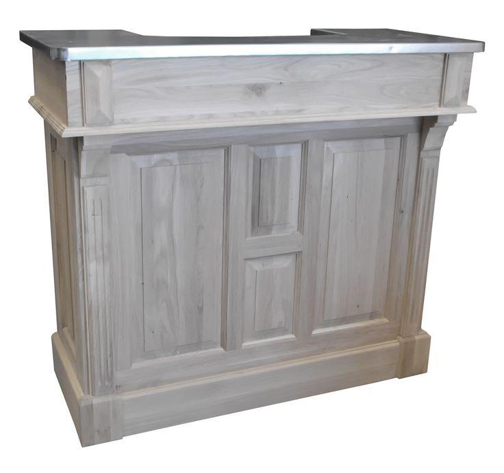 17 best images about comptoirs de bar en zinc et bois. Black Bedroom Furniture Sets. Home Design Ideas