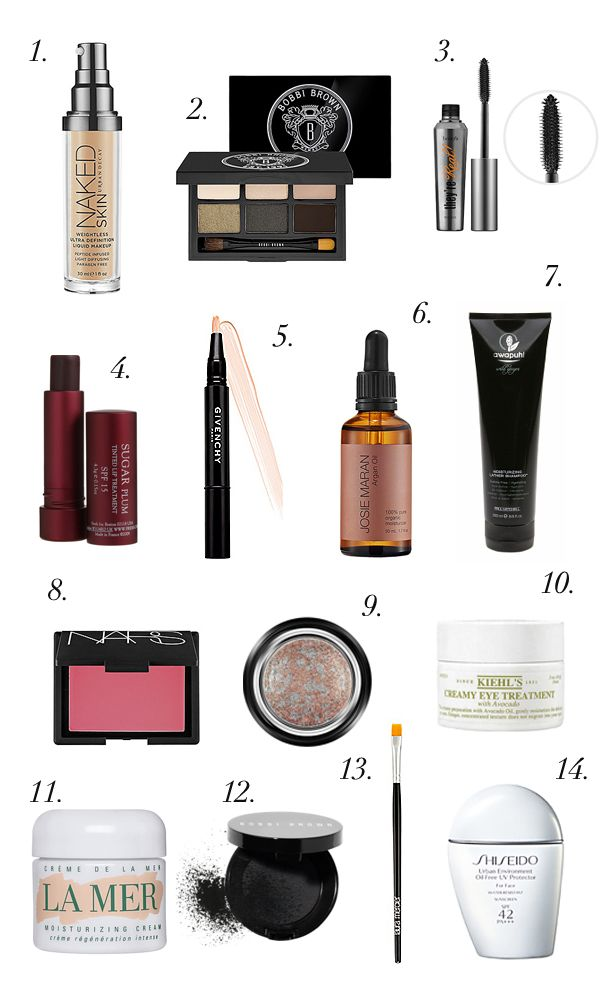 14 must have products.