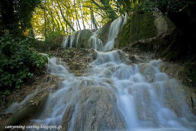 Waterfalls of Skra, Kilkis, Greece