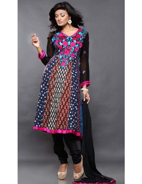 Resham Embroidered Kameez http://www.bharatplaza.com/b-fash/all-time-hits.html
