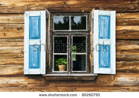 wooden asian windows with shutters - Google Search