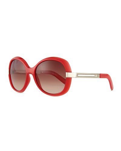 37802764802 D0VGU Chloe Bianca Oval Sunglasses