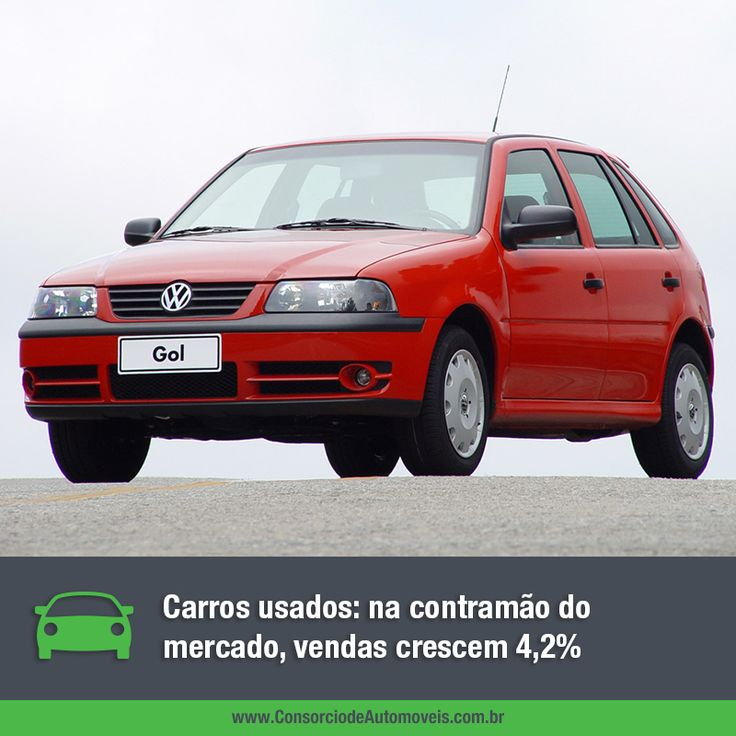 Com crescimento de 4,2%, os carros usados tiveram quase cinco milhões de unidades vendidas. Veja: https://www.consorciodeautomoveis.com.br/noticias/vendas-de-usados-crescem-4-2-no-semestre?idcampanha=206&utm_source=Pinterest&utm_medium=Perfil&utm_campaign=redessociais