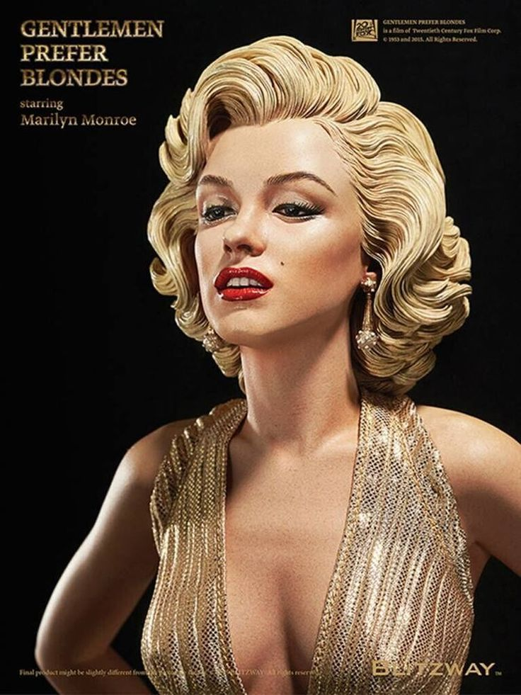 Marilyn Monroe Living Room Decor: Details About BLITZWAY 1/4 Gentlemen Prefer Blondes 1953