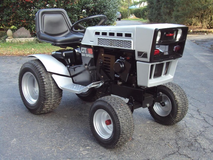 13 best Tractor images on Pinterest Old tractors Lawn tractors