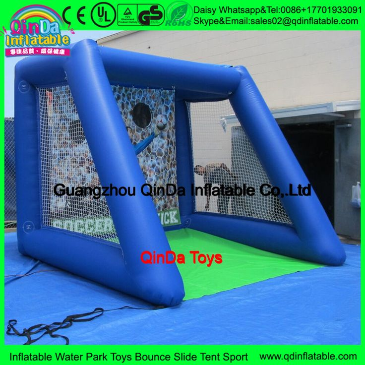 Cute Arabic Toys Dummy Inflatable Football Gate Inflatable Rugby Goal Post Soccer Goal Target