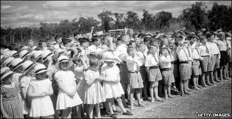 Children from the Fairbridge Farm Scool at Pinjarra, western Australia