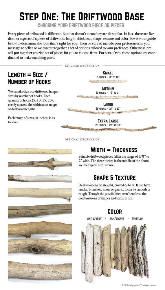 Made to Order Driftwood Jewelry Organizer/ Wall von Curiographer