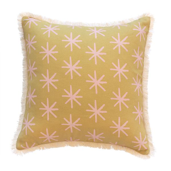 We are all starry-eyed for our signature 'Starry' cushion. Extra special care has been taken during the production of this Limited Edition piece. - Designed and made in Australia. Designed by Natala Stuetz in Brisbane, Australia. © 2014 Ma and Grandy