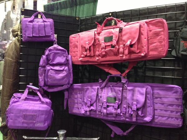 Voodoo Tactical debuts their new line of pink and purple cases and bags.