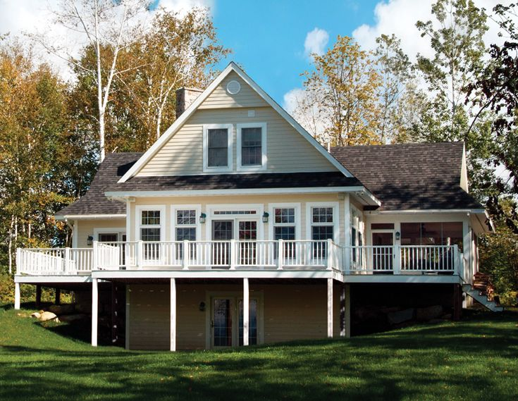 images about Lake House Plans on Pinterest   House Plans And    Quaker Lake Vacation Home  Lake House PlansHouse