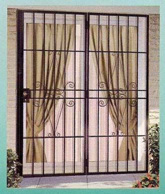 Image result for fold back security gates for patio